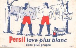 "Buvard  "" Persil "" ( Pliures, Rousseurs ) 20 X 13 Cm - Limpieza"