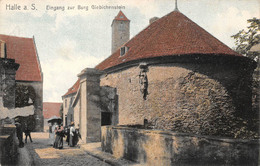 Allemagne - Halle - Eingang Zur Burg Giebichenstein - Halle (Saale)
