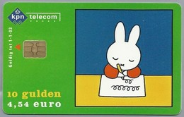 NL.- Telefoonkaart. PTT Telecom. 10 Gulden. € 4,54. Dick Bruna. Nijntje Naar School. A801 - Stripverhalen