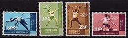 CD 50 - FORMOSE N° 624/27 Jeux Olympiques 1968 - 1945-... République De Chine
