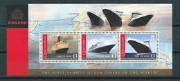 2008 Isle Of Man Complete M/Sheet Oceanliners MNH/Postfris/Neuf Sans Charniere - Man (Eiland)