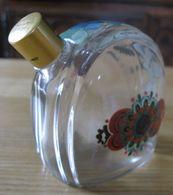 Flacon Vide  Verre Transparent Liqueur Garnier Enghien  Paris France - Spiritus