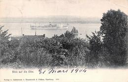 Allemagne - Blick Auf Die Elbe - Blankenese 1904 - Blankenese