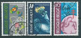 België OBP Nr: 2036 - 2038 Gestempeld / Oblitéré - Wetenschap - Belgium
