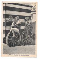 Blankenberge, Vrouwen In Badpak Op Strand. 1937. Met Postzegel. - Blankenberge