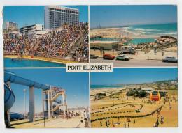 PORT  ELIZABETH     VIEWS         2 SCAN  (VIAGGIATA) - Sud Africa