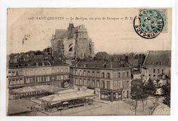 - CPA SAINT-QUENTIN (02) - La Basilique, Vue Prise De Fervaques 1904 - Edition P. D. 208 - - Saint Quentin