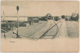 CPA - Carte Postale Tanzania - Tanga - Harbor And Train Station - Postcard - Tanzania