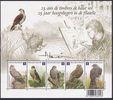 BE 2010 -  BL 182 XX  Ou N° 4030/34 XX Timbres Extrait Du Bloc - 1985-.. Oiseaux (Buzin)