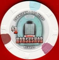 $1 Casino Chip. Horseshoe, Las Vegas, NV. L13. - Casino