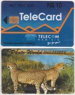 219/ Namibia; P4. Cheetah, Photo World - Namibia