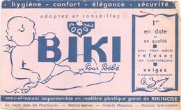 """Buvard  """" Biki """" Pour Bébé ( Pliures, Rousseurs Déchirures ) 21 X 13.5 Cm - Bambini"""