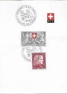 Schweiz-Suisse: PTT-Bögli Mit 5er PJ+PP J.d.T. GENÈVE 6.XII.1953 (Uhrmacher - Horloger) - Horlogerie