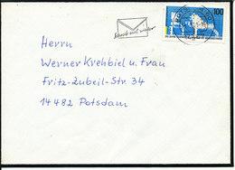 Germany Condolence Cover Potsdam 24-3-1995 Single Franked - [7] Federal Republic