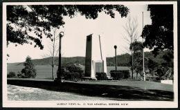RB 1199 - Real Photo Postcard - Gosford War Memorial - New South Wales Australia - Australie