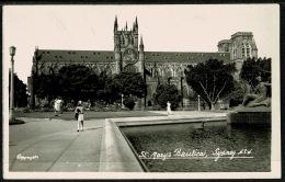 RB 1199 - Real Photo Postcard - St Mary's Basilica (2) Sydney - New South Wales Australia - Sydney