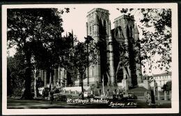 RB 1199 - Real Photo Postcard - St Mary's Basilica Sydney - New South Wales Australia - Sydney