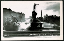 RB 1199 - Real Photo Postcard - Archibald Memorial Sydney - New South Wales Australia - Sydney