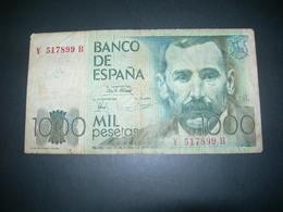 Spagna 1000 Pesetas - [ 4] 1975-… : Juan Carlos I