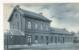 Contich - La Gare De Contich-Village - SBP - 1907 - Kontich