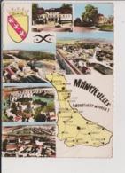 CPSM Grand Format - MANCIEULLES - Multivues - Carte Géographique - France
