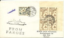 Faroe Islands Shipcover Paquebot From Faroes Seydisfjördur 21-8-1978 - Faroe Islands