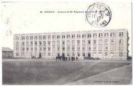 CPA - Angers - Caserne Du 33° Régiment D'artillerie - Angers