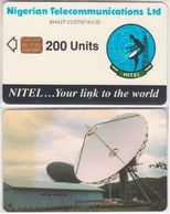 231/ Nigerie; P7. Satellite Station, CP 6NAIFIC - Nigeria