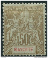 Mayotte (1900) N 20 * (charniere) - Mayotte (1892-2011)