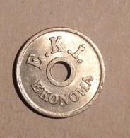 TOKEN JETON GETTONE E.K.I. EKONOMA 1 KURUS - Monetari/ Di Necessità