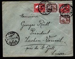 A5195) Egypt Ägypten Brief Cairo 18.10.08 N. Lachen-Vonwil / Schweiz - Ägypten