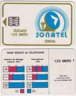 236/ Senegal; P4. Logo, SC5, CN 34676 - Senegal