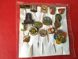 Lotto Di 15 Pin's/spillette Vintage - P616 - Pin's