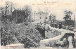 Miramont, Près Saint-Gaudens.  Château De Mr. Barutaut. - France