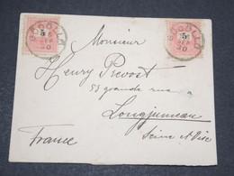 HONGRIE - Enveloppe De Gödöllő En 1896 Pour La France - 14072 - Hongrie