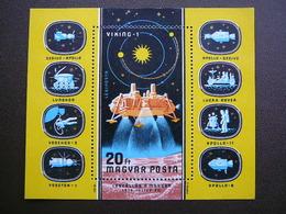 Viking 1 Landing On Mars. Space Research # Hungary # 1976 MNH S/s #Mi. 3155 Block121 - Ongebruikt