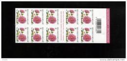 Belgie Boekje Carnet 2007 B80 BUZIN Flowers Dahlia 3721 - Carnet 1953-....
