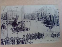 44   SAINT  NAZAIRE REVUE  DU  14  JUILLET   DEFILE DE L ARTILLERIE - Saint Nazaire