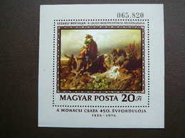 Battle Of Mohács. Art # Hungary # 1976 MNH S/s #Mi. 3134 Block120 - Ongebruikt