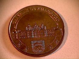 Médaille Touristique Château De Chambord - 2003