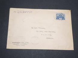 JAPON - Enveloppe De Tokyo Pour La France En 1934 Par Voie De Sibérie - 14075 - 1926-89 Empereur Hirohito (Ere Showa)