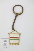 Vintage Italy Basketball Keyring/ Medal - Federazione Italiana Pallacanestro - 1º Torneo Europeo Giovanile Bologna 1962 - Portachiavi