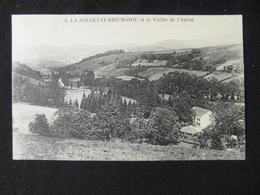CPA  LA SALVETAT RIEUMAJOU ET LA VALLEE DE L'AGOUT (34 HERAULT)  ANIMEE MAISON CHAMPS - Autres Communes
