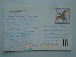 D156762   Hungary Angel -stamp  Dinosaur - Reptile - Dimorphodon  -Dino - Stamps