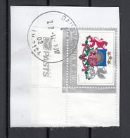 Lettonia 2015 Stemma Arms  Viaggiato Used Latvija On Paper - Su Frammento - Letland