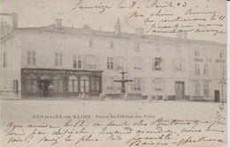 51SER - SERMAIZE -les- BAINS - Place De L'Hôtel De Ville - Sermaize-les-Bains