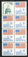 USA   -  Mi.Nr. 1195   -   Postfrisch   Markenheftchen   Flagge Und Kongressgebäude. - Vereinigte Staaten