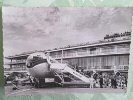 Air France Aeroport De Paris Orly , Boeing 707 A L Aerogare - Avions