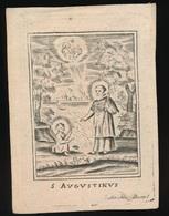 S.AUGUSTINUS  - BENEDICTUS GLORIEUX - KORTRIJK 1827  77 JAAR OUD - 2 SCANS - Overlijden