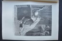 GRAVURE 518 DE SAINT BRUNO EN PRIERE D'après JEAN JOUVENET Par LOUIS DESPLACES Né à PARIS - Prints & Engravings